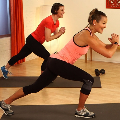 10-Minute Cardio, Legs, and Butt Workout
