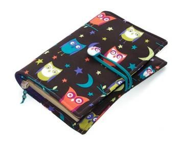 Book Cover Night Owls Fabric
