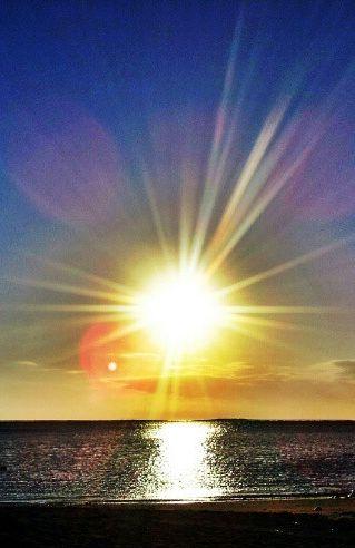 """Rays of Sunset"""