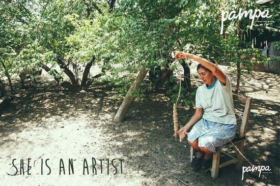 Pampa's gorgeous photography of the artisans in rural Argentina. Their handmade rugs and throws are available at #handmade houses #handmade liquid soap #handmade ice cream #handmade handgun