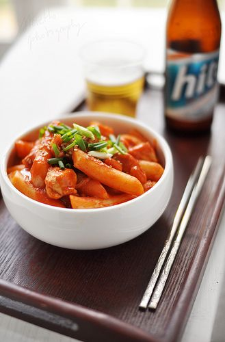 tteokbokki // korean food      Pining this for the hubby who loves it. I personally never cared for it.
