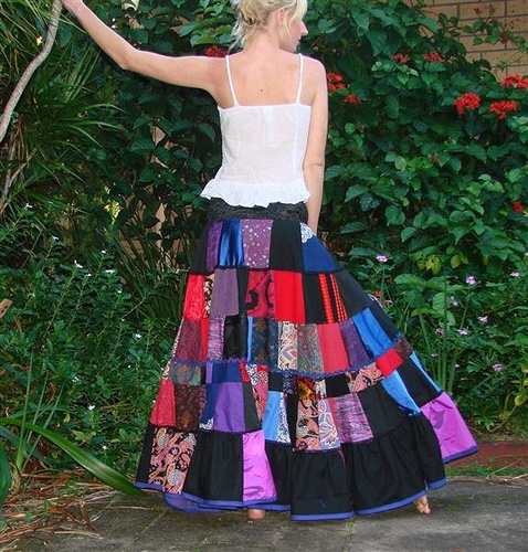 Beautiful skirt.
