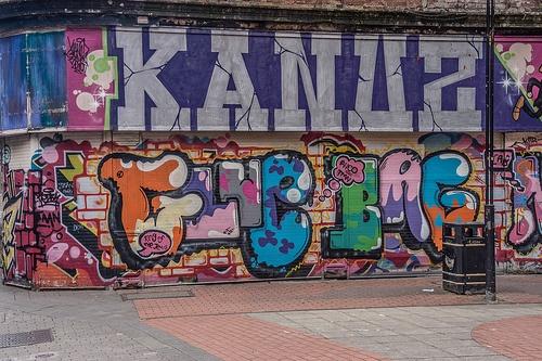 Graffiti And Street Art In Belfast
