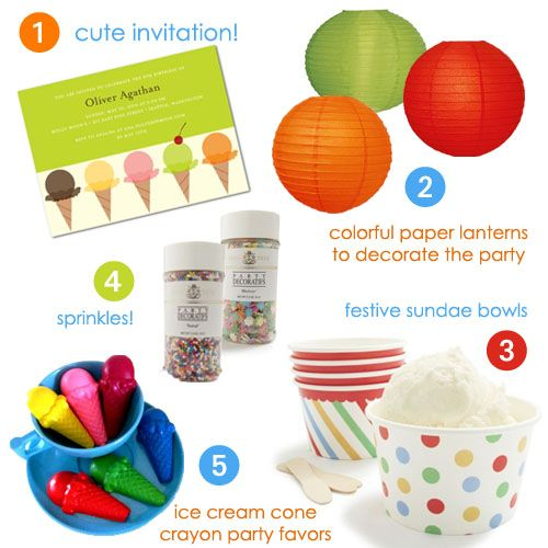 Nothing says summer like an ice cream party. #summer #party
