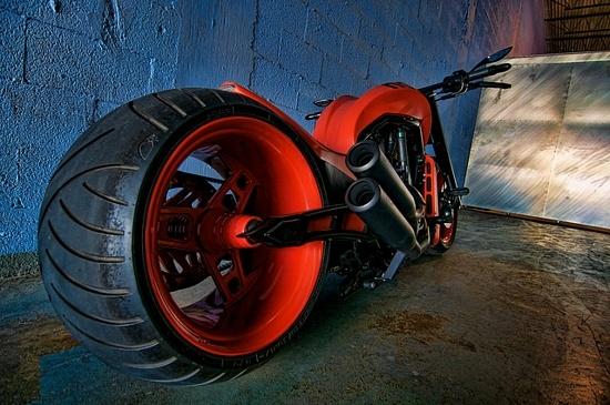 Red #motorcycle #motorbike