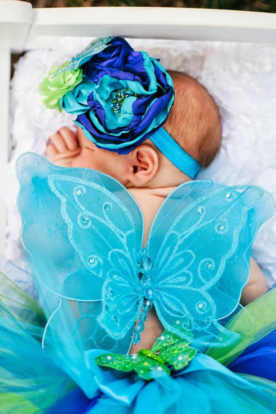 infant newborn photo props  Butterfly Newborn tutuNewborn tutu set by GlitterMeBaby on Etsy, $35.00