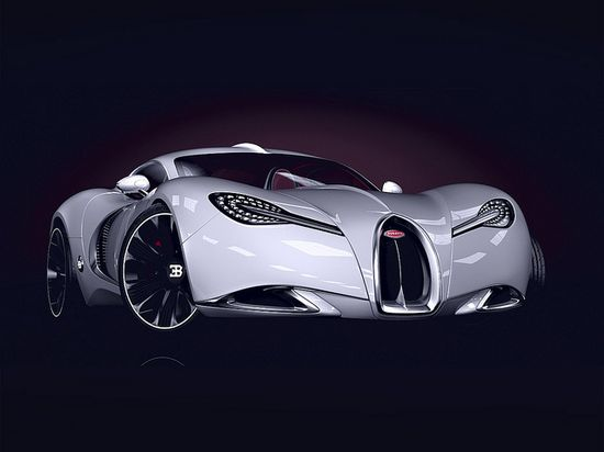 2013 Bugatti Gangloff Concept. The shape of Veyron's to come... RIDICULOUS !!!!