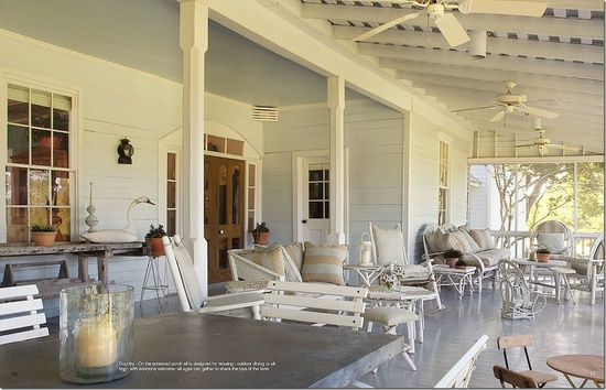 Best Outdoor Living Rooms Porch Houston Interior Designer Beverly Jacomini S Round Top Area