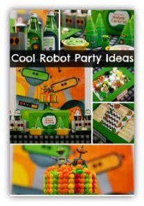 Boy Robot Birthday Party Ideas