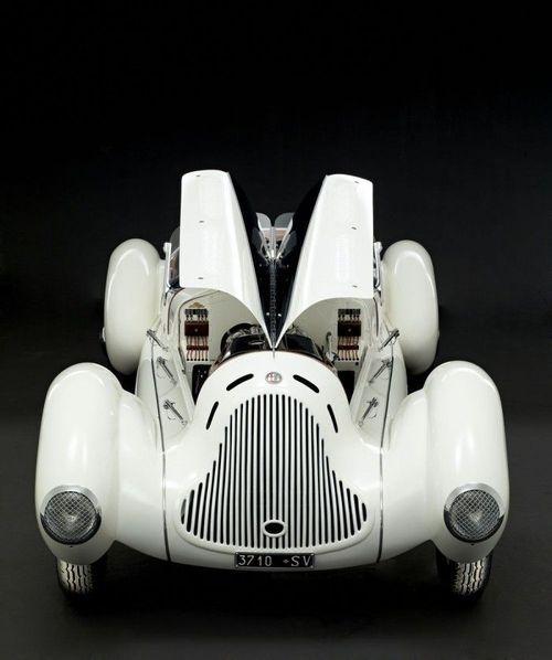 1931 Alfa Romeo 6C 1750 Gran Sport Aprile Spider Corsa :: picsinframes