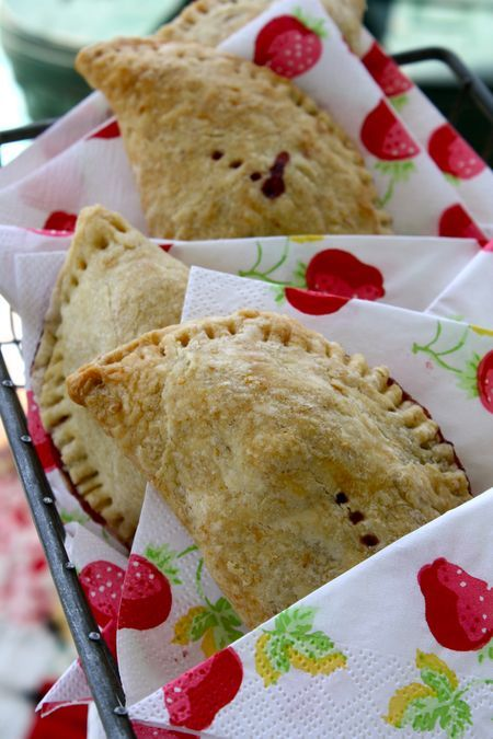 Strawberry Picnic Pie