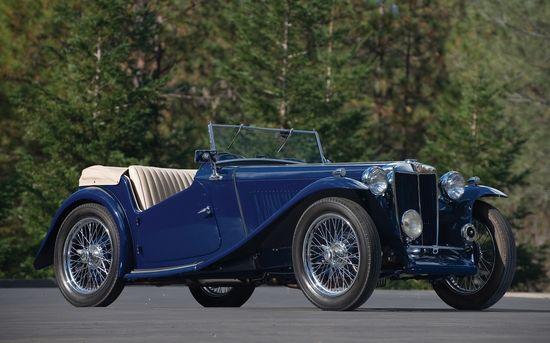 MG TC. 1937. (The MG Car Company Limited)