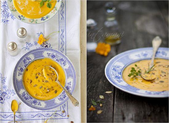 Pumpkin Soup. by Cintamani