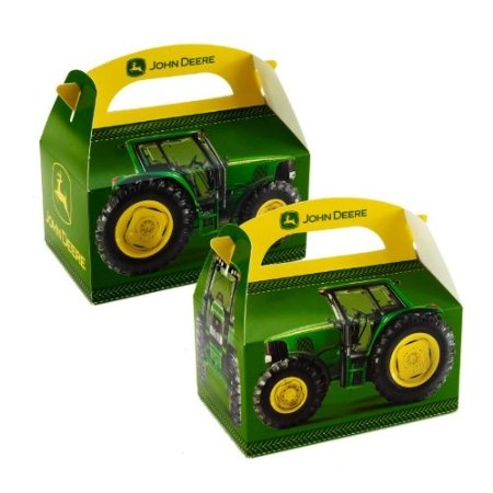 John Deere Birthday Party Supplies On Empty Favor Boxes 4 Repinned From
