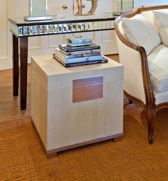 InStyle-Decor.com Beverly Hills Beautiful Ostrich Leather Cube Side Table Your Welcome to Check Out Over 3,000 Luxury Hollywood Interior Design Inspirations To Pin, Share & Inspire Your iFriends Use Our Red Pinterest Speed Pin Button Top Of Each Page Enjoy & Happy Pinning