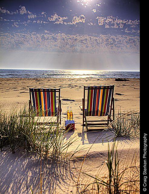 Ludington, Michigan beach