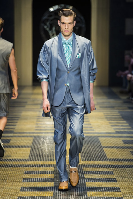 #Suit - Versace Men's Spring Summer 2013