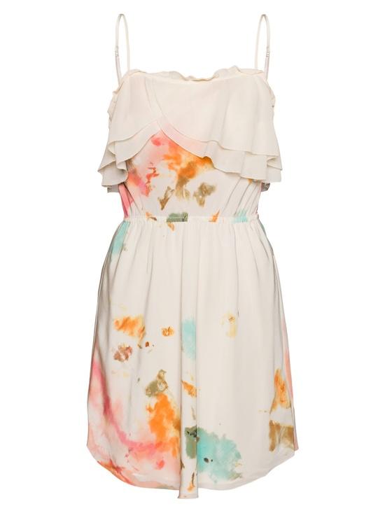 watercolors dress