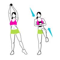 Stand Up for Flat Abs 4 moves no crunches yeah!