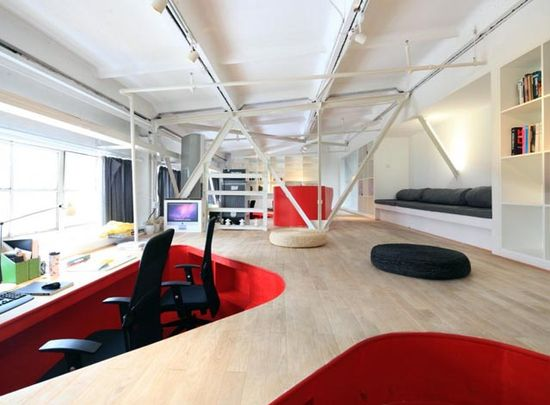creative modern office design ideas