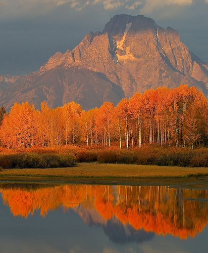 Fall in Jackson Hole, WY