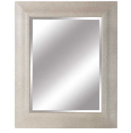 Luxe Designer Custom Shagreen Mirror, So Glamorous, Sharing Hollywood Luxury Lifestyle Home Decor & Gift Ideas Courtesy Of InStyle-Decor.com Beverly Hills Enjoy & Happy Pinning