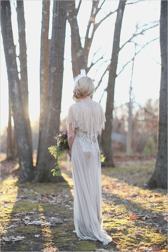 Anna Sui for BHLDN wedding gown