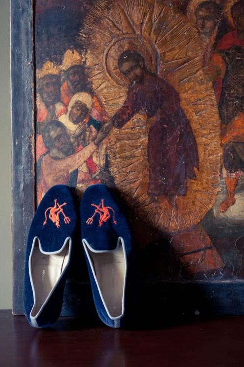 Wes Gordon's velvet slippers on The Coveteur: bit.ly/Hc8rfW