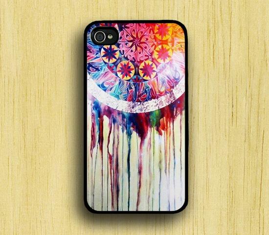Dream Catcher iPhone 4 Case, iPhone 4s Case, iPhone Case, iPhone hard Case. $6.99, via Etsy.