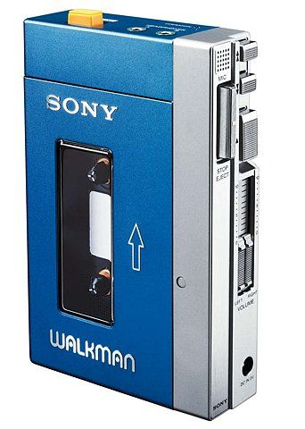 I can hardly believe I owned one of these sony walkman's back in the day, but I did!  A past and much cherished Christmas present form Mum and Dad. I'll spare you details of what I played on it though..