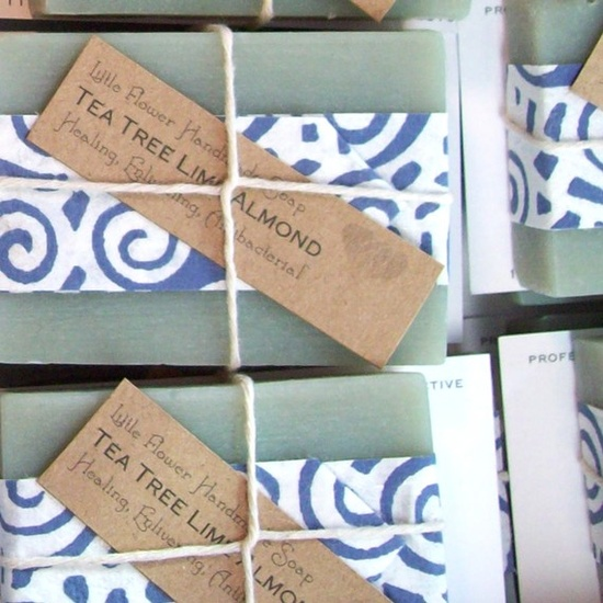 Eco Wedding Favor Handmade Soap 10 by LittleFlowerSoapCo