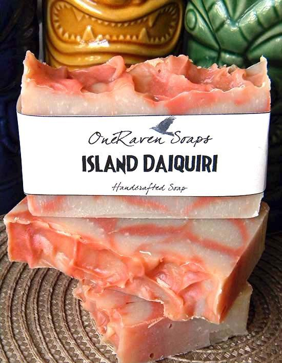 Island Daiquiri - Tropical Coconut Milk Handmade Soap - OneRaven Soaps