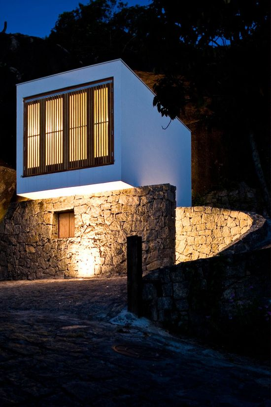 Box House, designed by Alan Chu & Cristiano Kato #architecture