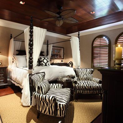 Bedroom Photos African Safari Decor Design, Pictures, Remodel, Decor and Ideas - page 3