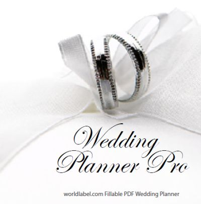 DIY Free Wedding Planner Printable