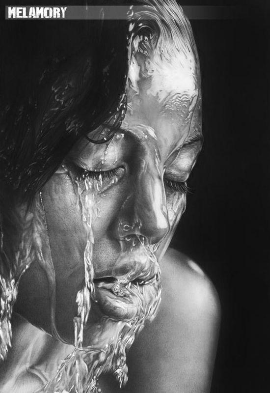Windows to the Soul – Pencil Portraits by Olga Melamory Larionova.