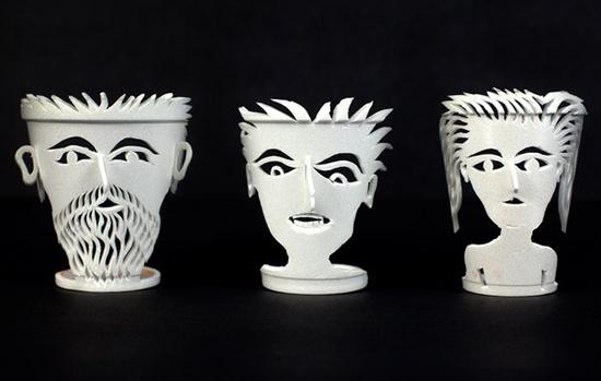 3D Styrofoam Cups!