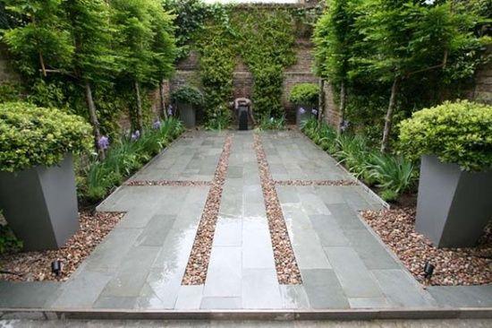 modern garden design - Google