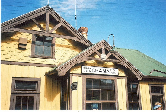 Chama Train Station, Chama New Mexico