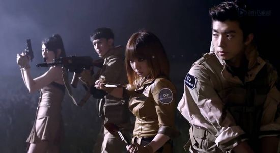 2PM & miss A star in full five minute trailer for game 'CrossFire'