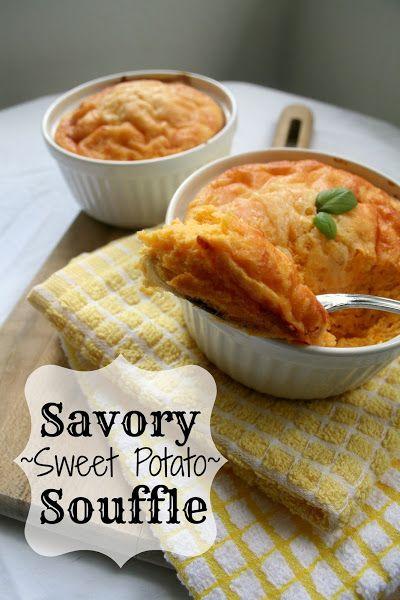 Savory Sweet Potato Souffle