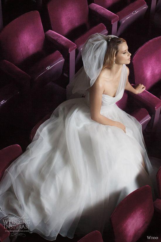 wtoo fall 2012 one shoulder wedding dress