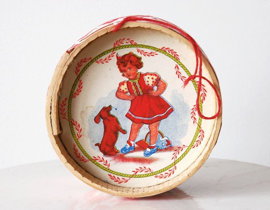 Traditional Portuguese Drum Toy