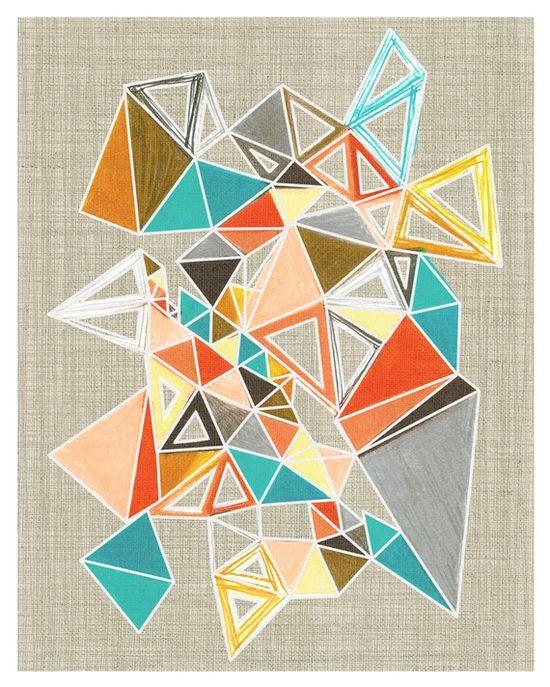 I love triangles, again.