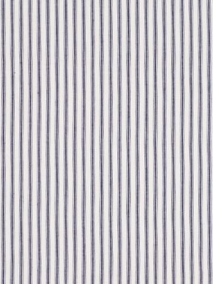 Robert Allen Fabrics Cottage Stripe-Ink $26.25 per yard #interiors #decor #royaldecor