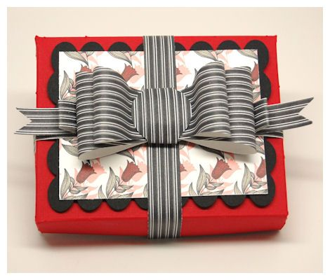 Gift card or business card box