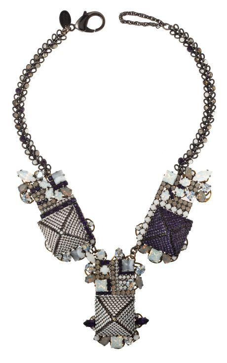 Field of Dreams necklace by Erickson Beamon