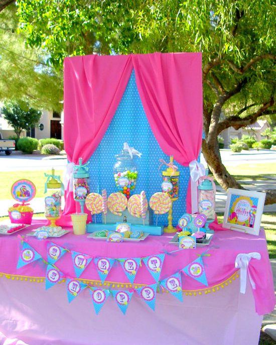 Candy land/lalaloopsy party