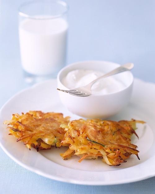 Vegetable Latkes recipe.