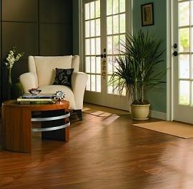 Heating under a wooden floor interior designs